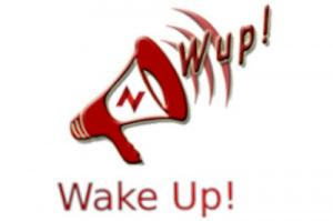 Logo del Wake Up!